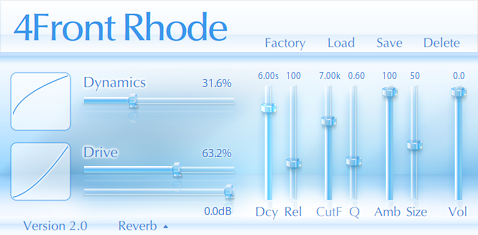 4Front Rhode free rompler by 4Front Technologies