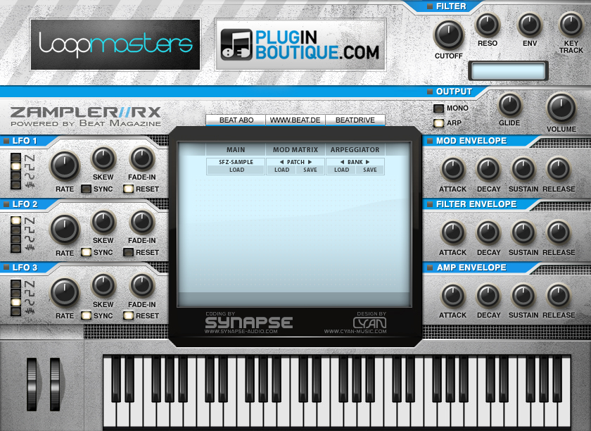 Zampler free sampler | sequencer by Plugin Boutique