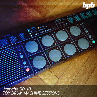 Yamaha DD-10 Toy Drum Machine Sessions free soundbank by Bedroom Producers Blog