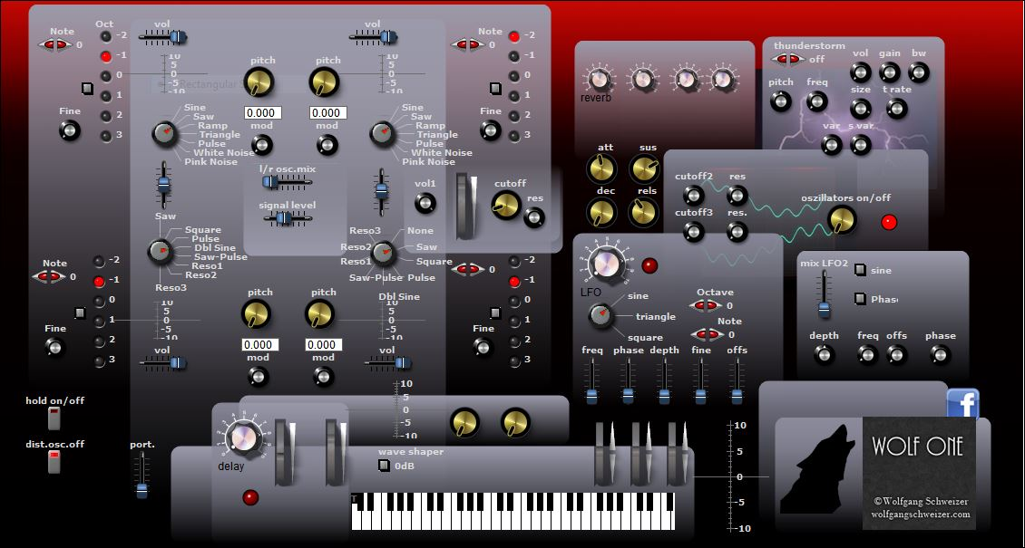 wolf one free software-synthesizer by Schweizer Arts