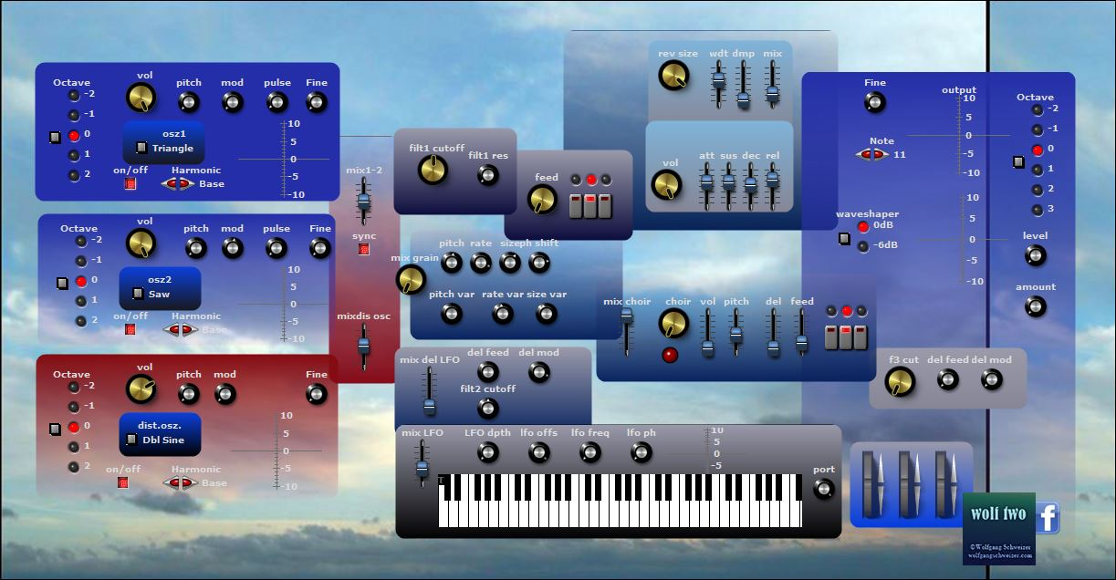 wolf two free software-synthesizer by Schweizer Arts