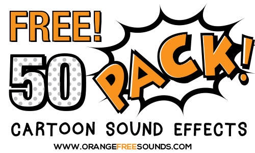 Cartoon Sound Effects free loop-sample-pack by Orange Free Sounds