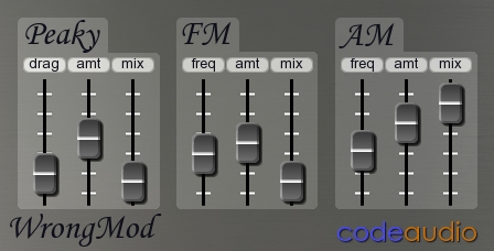 WrongMod free ring-modulator by Code Audio