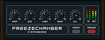 Freezechamber free reverb by Synthescience