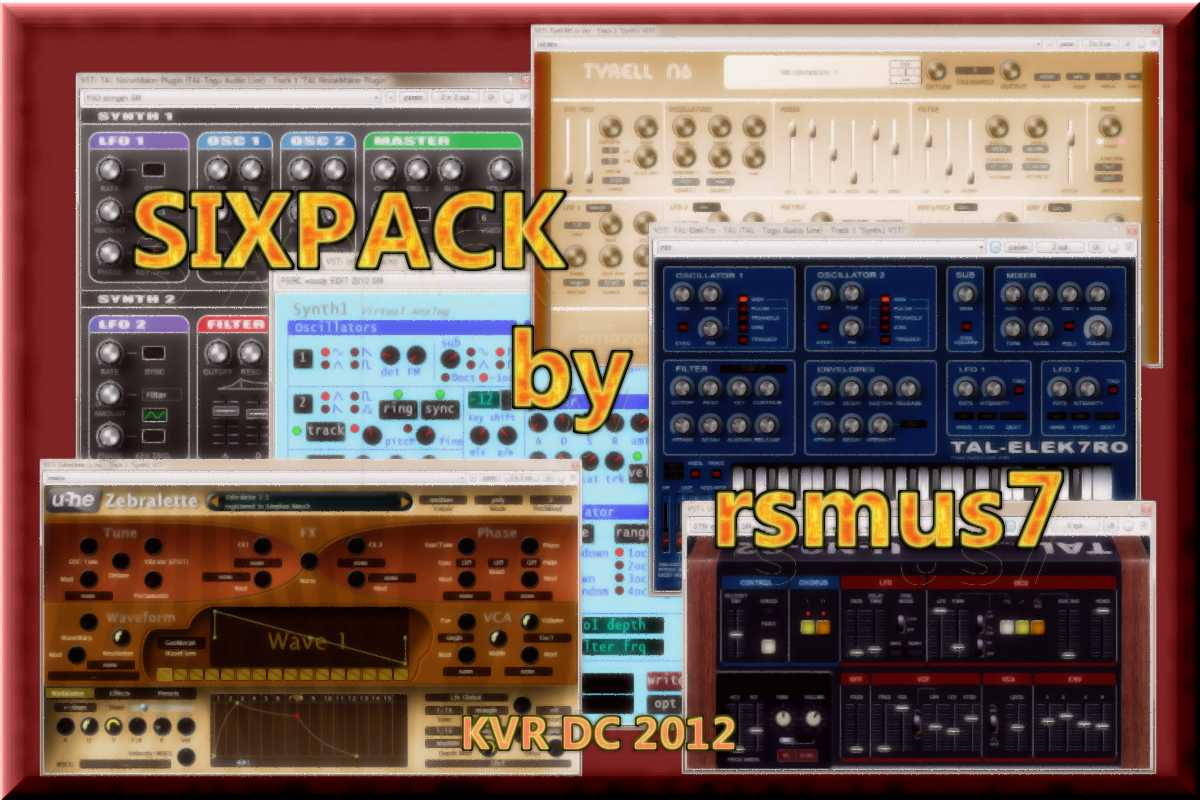 SIXPACK free softsynth-preset by rsmus7