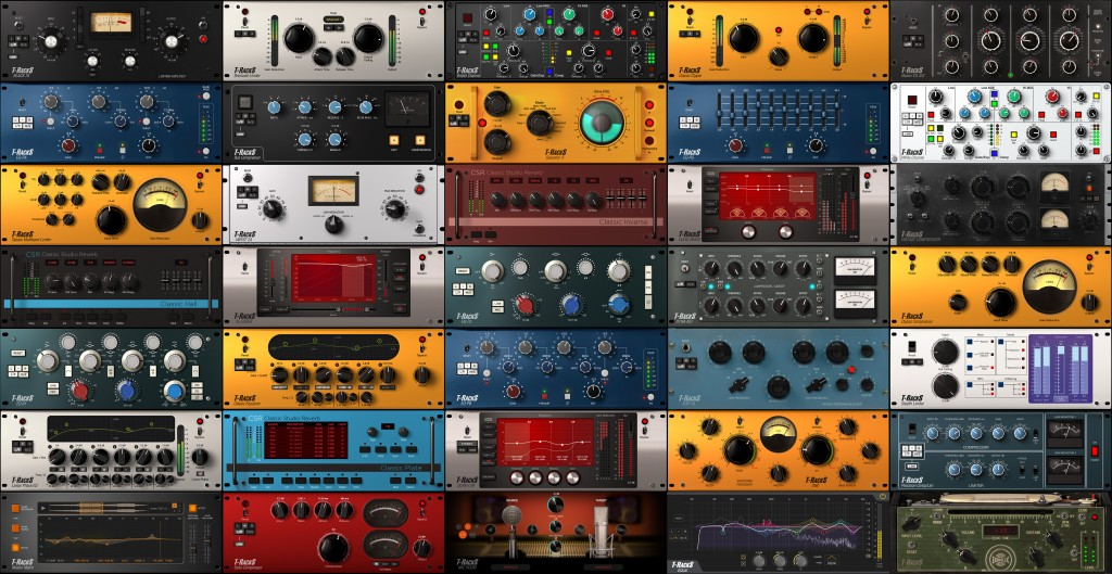 T-RackS CS free multi-fx | overdrive | saturation | bit-crusher | crunch | panner | pitch-shifter | phaser | flanger | eq | compressor | limiter | amp-simulator | filter by IK Multimedia