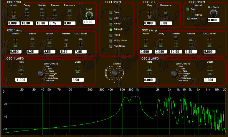 Mothman 1000 free software-synthesizer by Demonic Sweaters