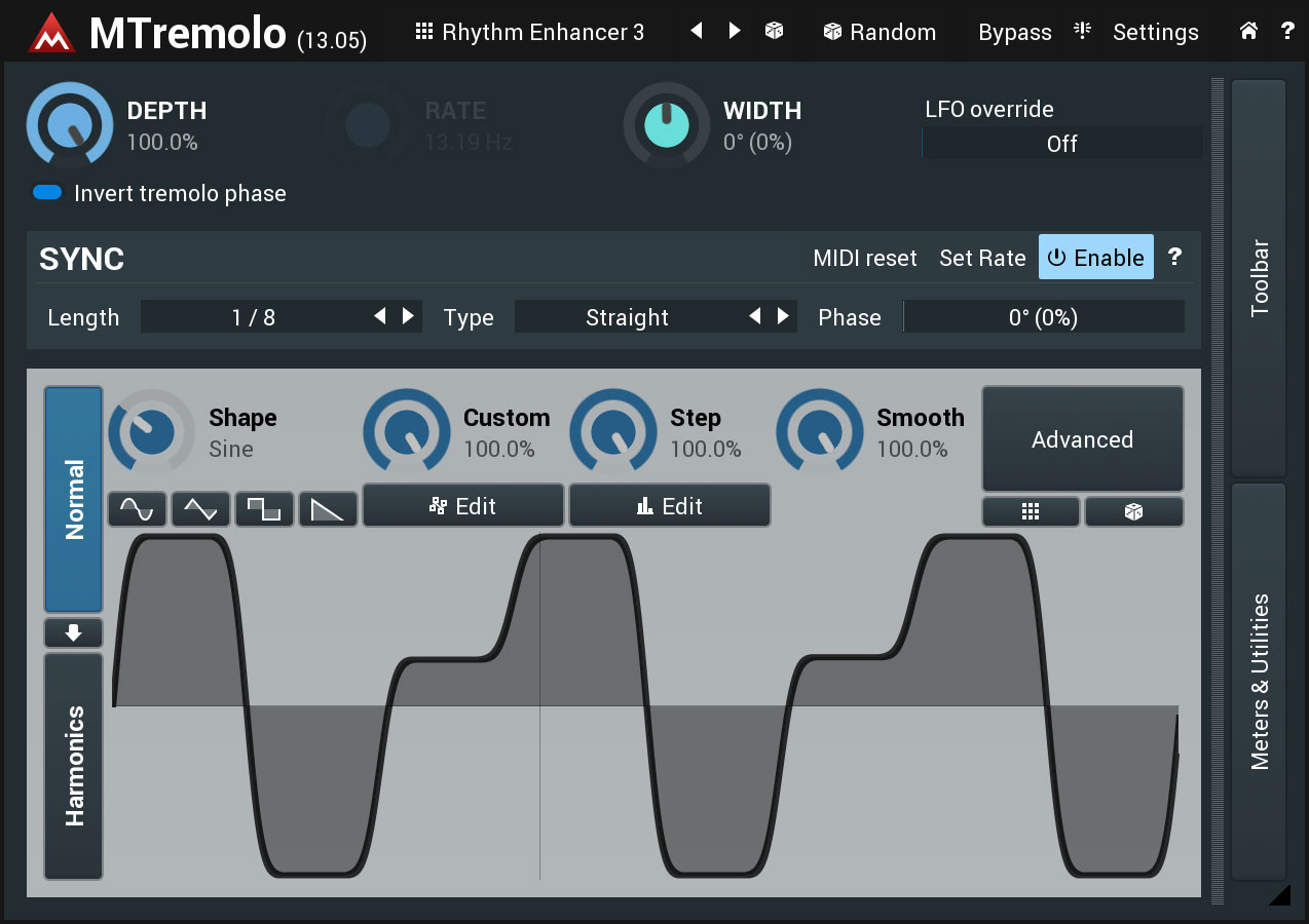 MTremolo free tremolo by MeldaProduction