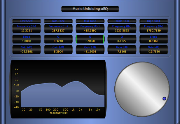 xEQ free eq by Music Unfolding