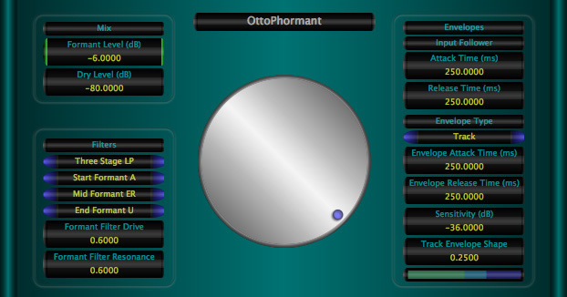 OttoPhormant free filter by Music Unfolding