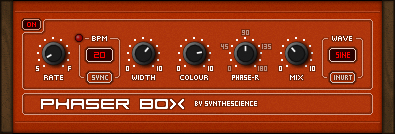 Phaser Box free phaser by Synthescience