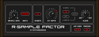 R-Sample Factor free bit-crusher by Synthescience