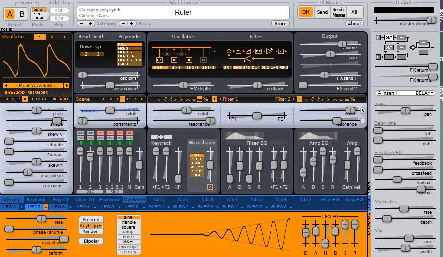 Surge free software-synthesizer by Vember Audio