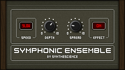 Symphonic Ensemble free software-synthesizer by Synthescience