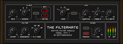 The Filtermate free filter   ring-modulator by Synthescience