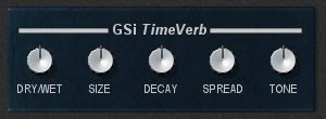 TimeVerb free reverb by GSi
