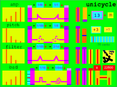 Unicycle free software-synthesizer by Spacedad