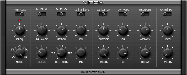 ViNOM free software-synthesizer by Alterex