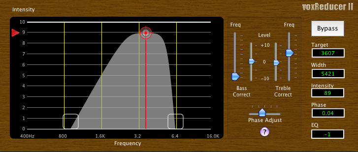 voxReducer free eq by Loud Software