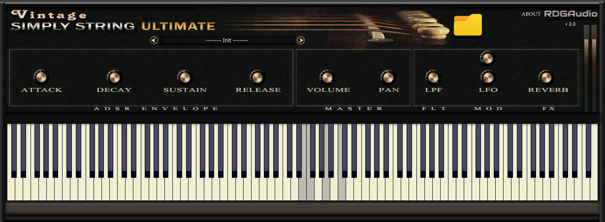 Vintage Simply String Ultimate free software-synthesizer by RDGAudio
