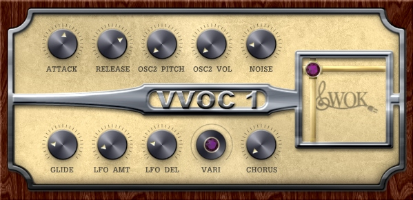 VVOC-1 free software-synthesizer by WOK