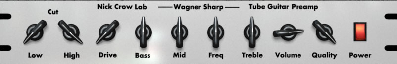 Wagner Sharp free overdrive | saturation by Nick Crow Lab