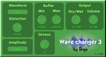 Wave changer 3 free overdrive | saturation by Bojo