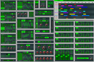 X13FL free software-synthesizer by BV Music