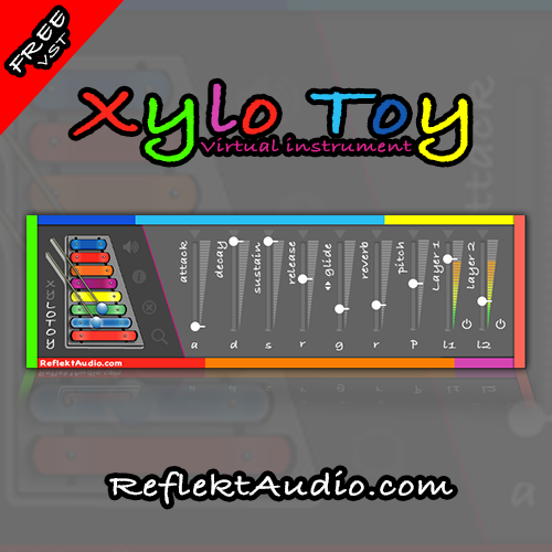 Xylo Toy free rompler by Reflekt Audio