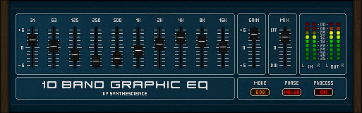 10 Band Graphic Eq free eq by Synthescience