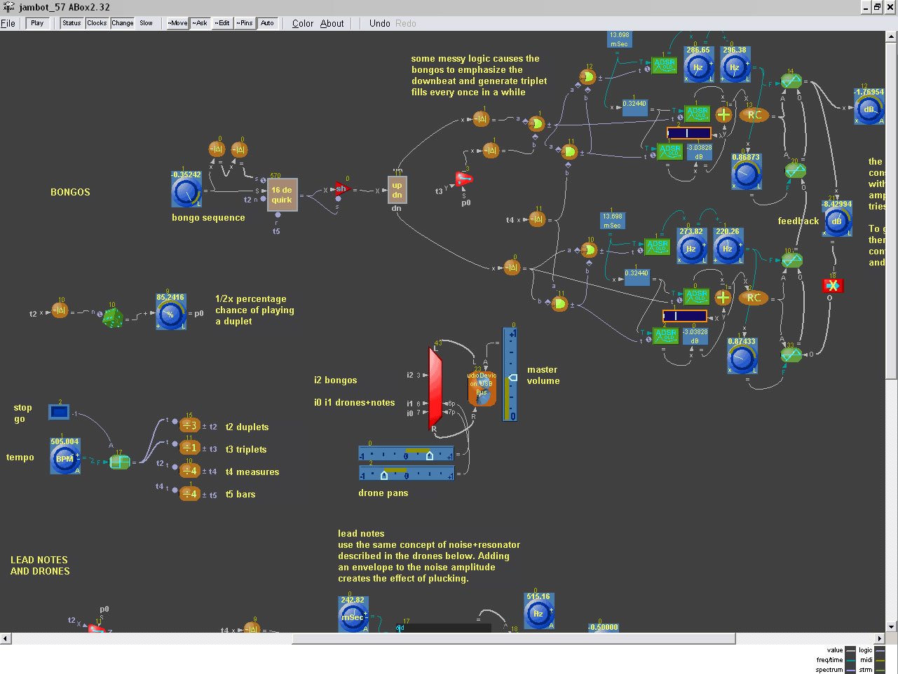 Analog Box free software-synthesizer by Andyware