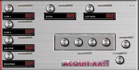 Acquit XX11 free software-synthesizer by Acquit music