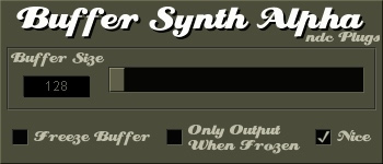 Buffer Synth Alpha free buffer-synth by ndc Plugs
