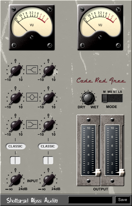 Code Red Free free channel-strip | console-emulator by Shattered Glass Audio