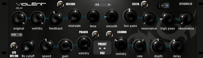 Violent Free Delay free delay by Bitsonic