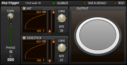 DSP Trigger FREE free audio-to-midi by AudioFront