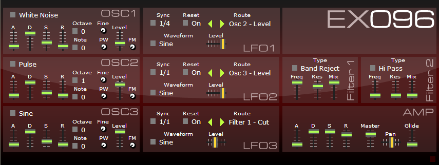 EX-096 free software-synthesizer by djodin