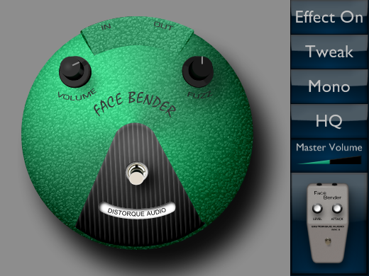 Face Bender free fuzz   overdrive by Distorque