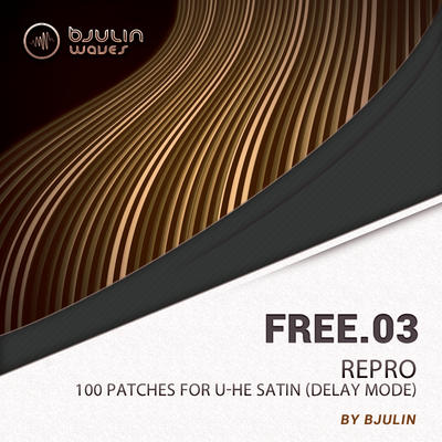 FREE.03 - Repro free fx-plugin-preset by Bjulin Waves