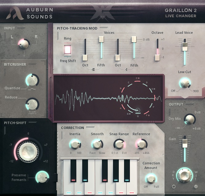 Graillon free pitch-corrector by Auburn Sounds