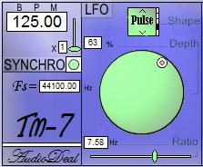 TM7 free tremolo   lfo by Audiodeal