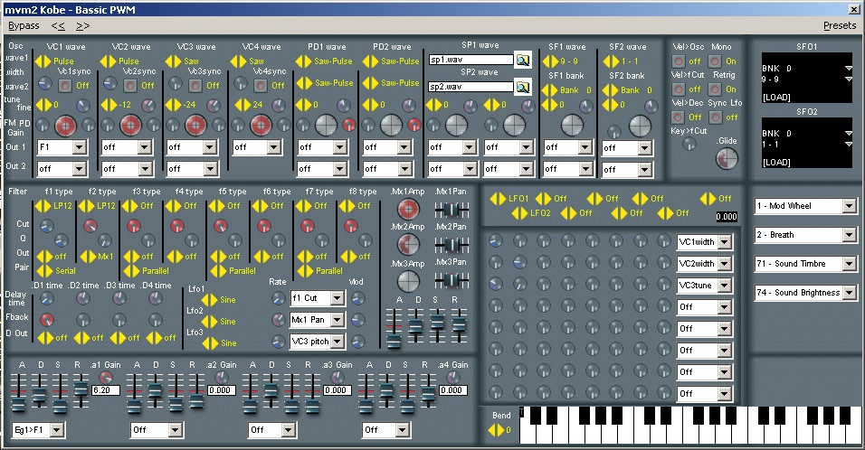 Kobe free software-synthesizer by MVX Synths