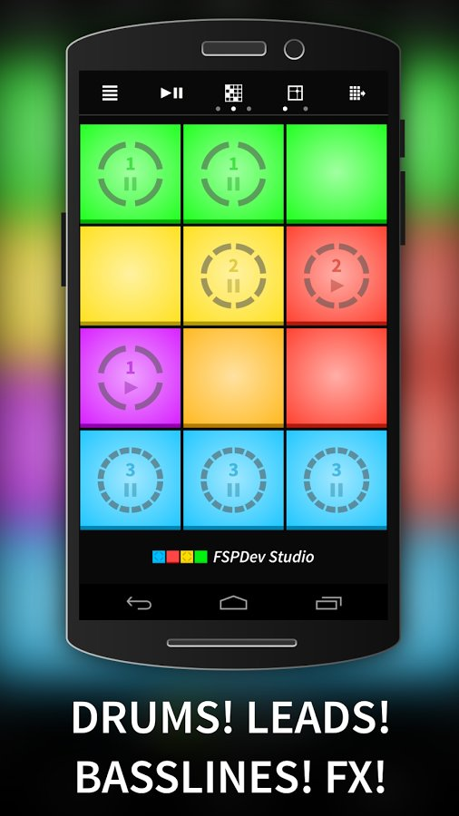 Groove Pads - Make Beats and Mix Music free sequencer by FSP Devs