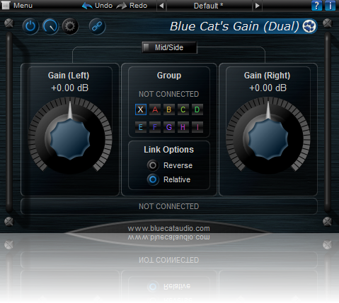 Gain Suite free gain | stereo-imaging by Blue Cat Audio
