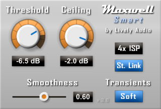 Maxwell Smart free limiter by Lively Audio