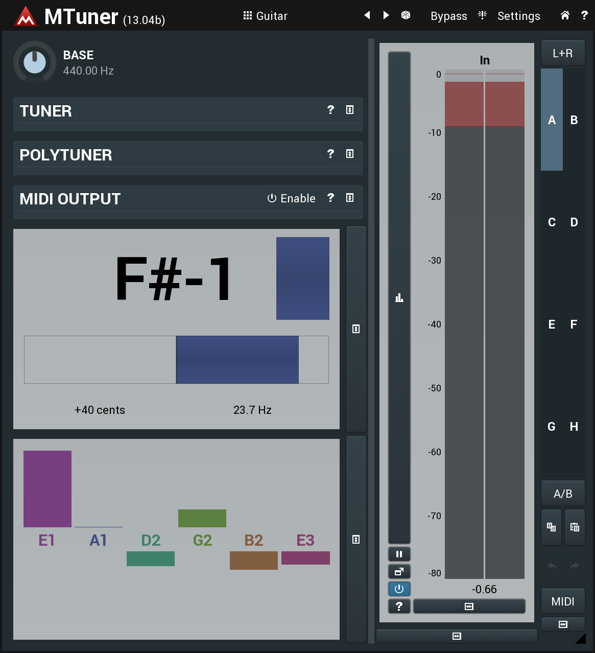 MTuner free tuner by MeldaProduction