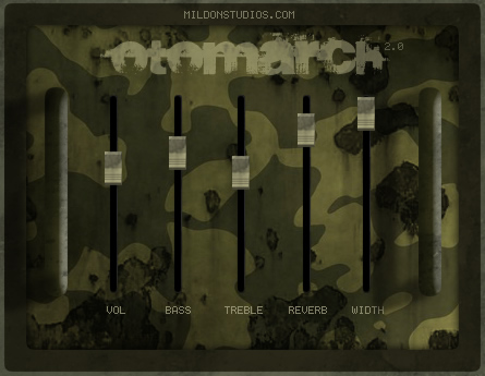 OtoMarch free software-synthesizer by Mildon