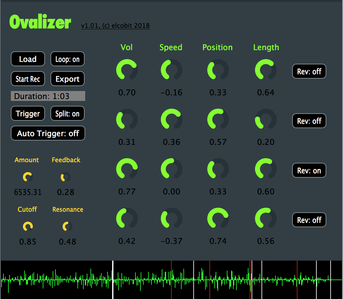 Ovalizer free software-synthesizer by Elcobit