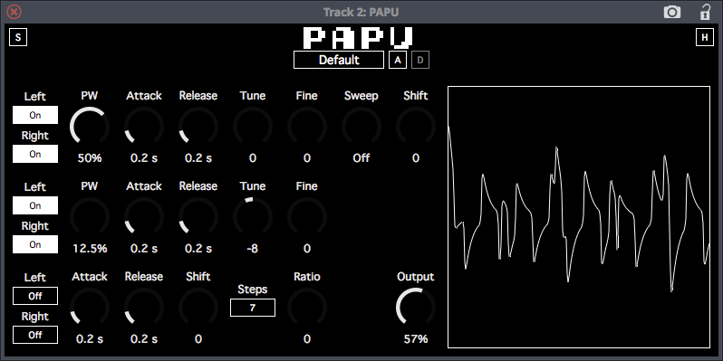 PAPU free software-synthesizer by SocaLabs