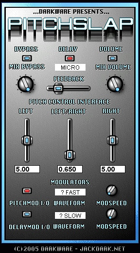 PitchSlap free pitch-shifter | time-stretcher by DarkWare